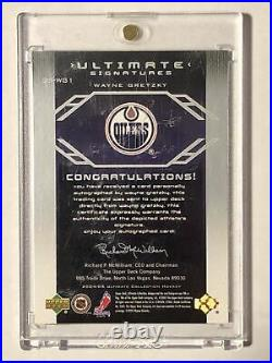 04/05 Upper Deck Ultimate Wayne Gretzky Autograph US-WG1