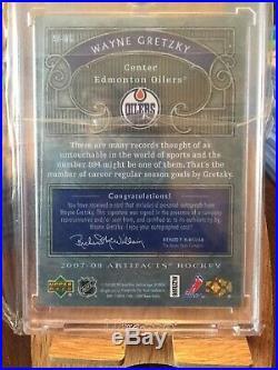 07-08 Artifacts Wayne Gretzky Autofacts Sp Autograph