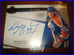 14/15 Sp Authentic Wayne Gretzky Sign of the Times Auto Autograph Signature