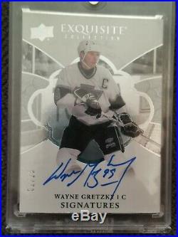 18-19 Exquisite Wayne Gretzky Autograph LA Kings
