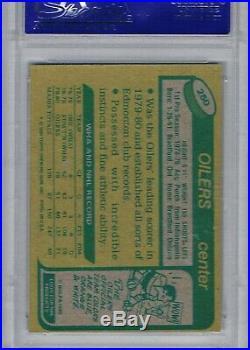 1980-81 Topps #250 Wayne Gretzky PSA / DNA AUTO