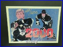 1990 Upper Deck Wayne Gretzky Official Autograph Certificate of authenticity