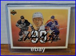 1991-92 Upper Deck Signed Kings Hockey Card #38 Wayne Gretzky 99 COA