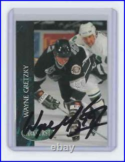 1992-93 Parkhurst #65 Wayne Gretzky Los Angeles Kings Signed Autographed