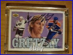 1994 Wayne Gretzky Upper Deck'92-93 Heroes Auto 649/2800