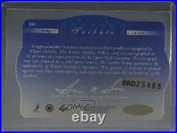 1996-97 SPx Tribute Signature Wayne Gretzky #GS1 Auto HOF