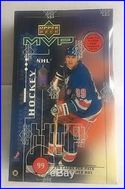 1998-99 Upper Deck MVP Hockey Factory Sealed Box 36 Packs Autographs