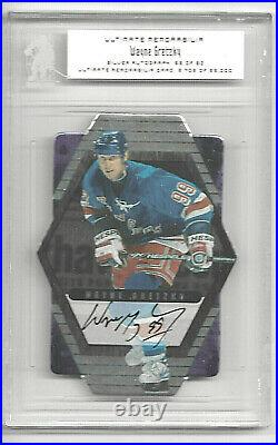 2000-01 Bap Ultimate Memorabilia Premier Edition Wayne Gretzky Autograph