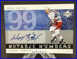 2005-06 Upper Deck Notable Numbers #N-WG Wayne Gretzky 47/99
