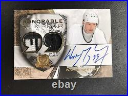 2008-09 The Cup Honorable Numbers #HNWG Wayne Gretzky #8/9