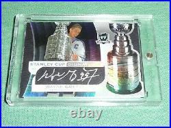2008-09 The Cup WAYNE GRETZKY Auto 21/50 Stanley Cup Signatures Autograph L@@K