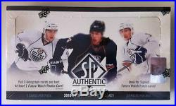 2010-11 SP Authentic HK HOBBY Box 3 Auto (Tyler Seguin Rookie Patch Gretzky)