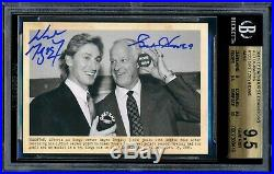 2011-12 Parkhurst Champions Auto Gordie Howe Wayne Gretzky #123 Autograph 1/1