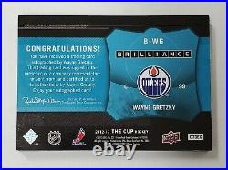 2012-13 Upper Deck The Cup WAYNE GRETZKY Brilliance Autograph Edmonton Oilers SP