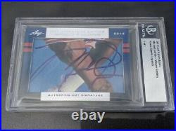 2012 Leaf ICONS DUAL AUTO Michael Jordan & Wayne Gretzky BGS Auth. TRUE 1 of 1