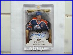 2014-15 The Cup Exquisite Collection Wayne Gretzky AUTO 15/25. AWESOME