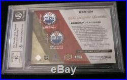 2015 The Cup Wayne Gretzky Connor McDavid Autograph RC Auto Patch Bgs 9 1/15 WOW