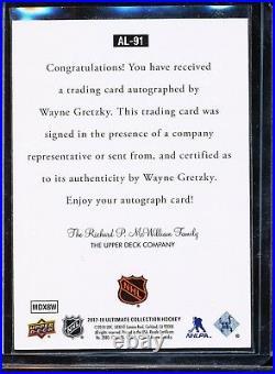 2017-18 Ultimate Collection Legends 1997 Wayne Gretzky Auto Sp Ssp Autograph