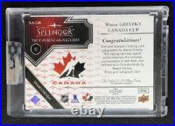 2017-18 Upper Deck Splendor True North Signatures Canada Auto Wayne Gretzky /36