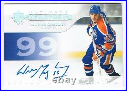 2019-20 Ultimate Collection Ultimate Signatures Autograph #US-WG Wayne Gretzky