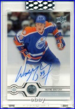 2019-20 Upper Deck Clear Cut Wayne Gretzky AUTO