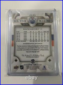 2019-20 Upper Deck The Cup WAYNE GRETZKY All Time Alum AUTO! MINT 13/25 Oilers