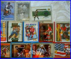 62 Card NHL Autographs & Inserts Lot! Gretzky Auto/serial #ed/jersey Cards/