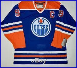 Autographed Uda Wayne Gretzky Edmonton Oilers Heroes Of Hockey CCM Jersey