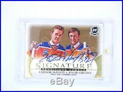 Connor Mcdavid/wayne Gretzky 2018-19 Upper Deck The Cup #sr2-cw Signature