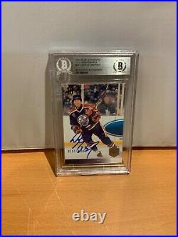 HOF Hockey Wayne Gretzky Autographed Card Beckett Cert (1/1). 297/1994