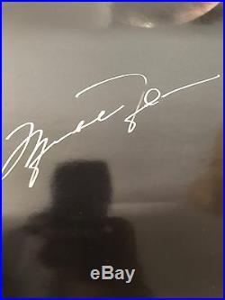John Elway, Wayne Gretzky, Michael Jordan Autographed Poster PSA/DNA COA