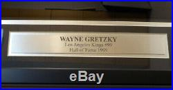 Kings Wayne Gretzky Autographed Framed Authentic CCM Jersey Beckett COA A14409