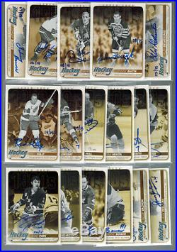 Lot Of (86) 2008/09-2014/15 Upper Deck Hockey Heroes Signed Auto Lot No Dupes