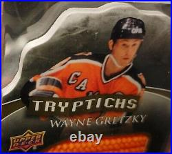 PSA 10 WAYNE GRETZKY 80s CAMPBELL CONF ALL-STAR LOGO SOCK PATCH AUTO CUP 1/1