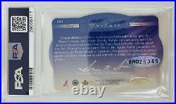 PSA/DNA Edmonton Oilers #99 WAYNE GRETZKY Signed 1996 Spx Hockey PSA 10 Auto