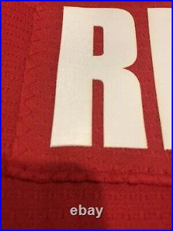 Signed 2005 Team Issue Nike Mike Richards Team Canada World Jrs Hockey Jersey 56