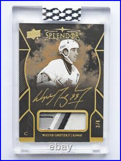 Splendor Gretzky /6 Auto /11 Materials /12 Patch /15 Signatures /22 Jersey /36