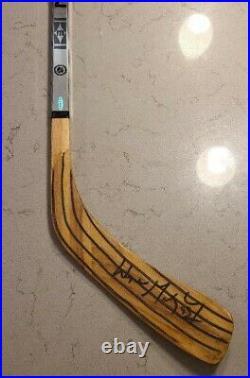 UDA Wayne Gretzky signed Kings Easton game hockey stick UPPERDECK Jack Gripper