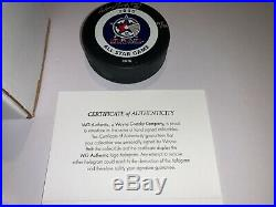 Ultra Rare Wayne Gretzky Autographed Limited Edition 2000 NHL All Star Puck