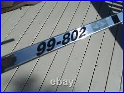 Ultra Rare Wayne Gretzky Chrome Easton 99-802 & T-flex Shaft Blade Signed 2 Coa