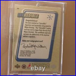 Upper Deck Retro Inkredible Wayne Gretzky Autograph 1999-00