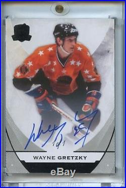 WAYNE GRETZKY 1/1 15-16 UD CUP BLACK Auto Parallel 1 of 1 #1 OILERS ALL-STAR