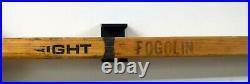WAYNE GRETZKY 2x SIGNED AUTO GU 1985 STANLEY CUP STICK PSA/DNA WithMESSIER + UDA