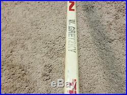 WAYNE GRETZKY 88'89 Signed Los Angeles Kings Game Used Hockey Stick NHL COA