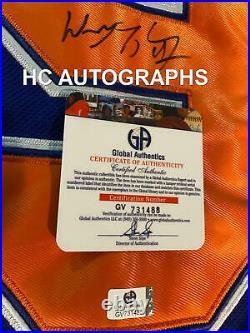WAYNE GRETZKY Signed JERSEY LARGE 50- GLOBAL