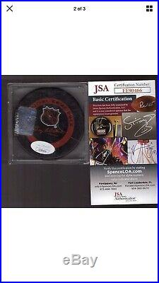 WAYNE GRETZKY WGA SIGNED NY RANGERS OFFICIAL GAME PUCK with JSA AUTOGRAPH COA AUTO