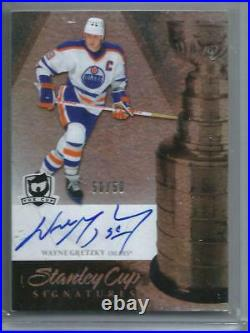 Wayne Gretzky 10/11 The Cup Stanley Cup Signatures Autograph #50/50