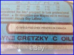 Wayne Gretzky 1979-80 0-Pee-Chee Edmonton Oilers Rookie Card-NICE