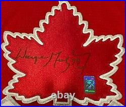 Wayne Gretzky 2002 Team Canada Olympic Gold Medal Team Autographed Jersey (WGA)