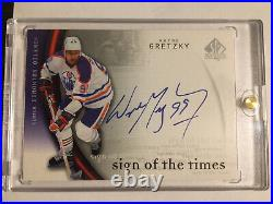Wayne Gretzky 2005-06 Sp Authentic Sign Of The Times Autograph Ssp /15
